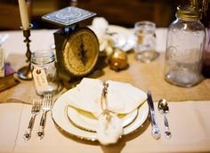 Awesome place setting; photo by Ryan Ray