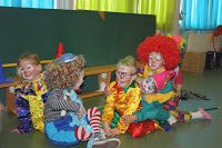 Circus opvoering: Clowntjes