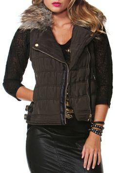 Sass clothing Street Smart Puffer Vest