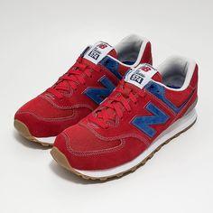 "Solekitchen hat jetzt den  New Balance classic 574 ""Red Suede"" online | # newbalance #sneaker #sneakers #shoes #shoes"