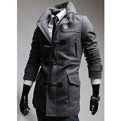 Menn Ark Genser Nylon Trench Coat – NOK kr. 429