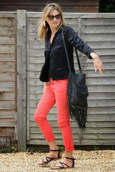 It's OK to wear red jeans again