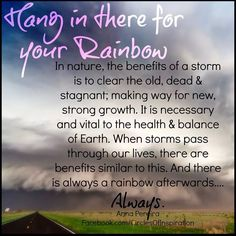 Always a rainbow :)
