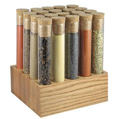 Test Tube Spice Rack - I know someone who'd love this!