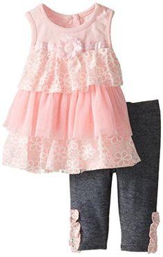 Nannette Baby Girls' 2 Piece Knit Shirt Set and Pant, Pink, 24 Months Nannette http://www.amazon.com/dp/B00QNHZHQG/ref=cm_sw_r_pi_dp_kWbjwb0VNG61B