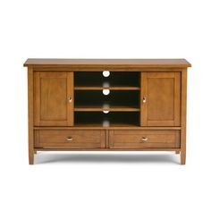 Create an instant focal point in your living room with this Norfolk TV media…