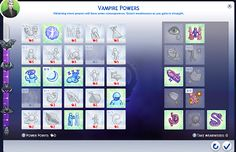 Zero cost for Vampire Perks! The Sims, Sims Cc, Sims 4 Controls, Sims 4 Characters, Sims 4 Game, Sims 4 Clothing, Sims 4 Mods, Best Games, Ps4