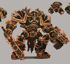 Chaos Hopekiller Blood Magick, Chaos 40k, War Hammer, Warhammer 40000, Space Marine, Armored Vehicles, Armors, Marines, Weapons