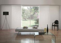 Panel blinds for bi-fold doors