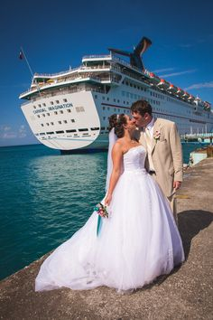 Image result for cruise wedding photos
