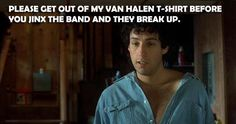 The Wedding Singer...how deep, foreshadowing Van Halen's demise. For Free streaming 80s music - www.radionomy.com/80sthrowbackparty