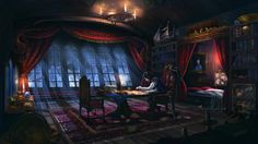 Captain's Quarters by JoshHutchinson on DeviantArt