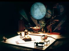 Private Lives. Scenic design by Joe Tilford.