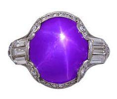 Star Ruby, Platinum & Diamond Ring