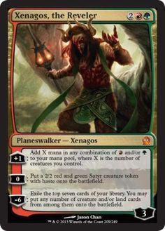 Xenagos-the-Reveler-x1-Magic-the-Gathering-1x-Theros-mtg-card-planeswalker