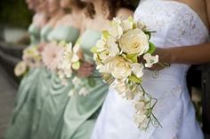 This is a great model for the paper flower bouquets we are making for the wedding.