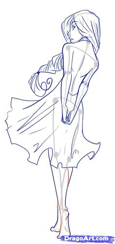 How to Draw Female Figures, Draw Female Bodies, Step by Step, Anime Females, Anime, Draw Japanese Anime, Draw Manga, FREE Online Drawing Tutorial, Added by MauAcheron, June 24, 2012, 1:20:17 am by candace