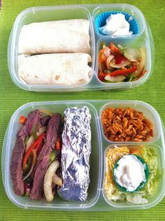 Easy to prepare packed lunch recipes