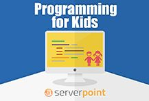 Dedicated server hosting, cloud virtual servers and web hosting services by ServerPoint. Programming For Kids, Kids Programs