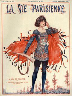 Chéri Hérouard (1881-1961). La Vie Parisienne, 29 Octobre 1927. [Pinned 17-iii-2015]