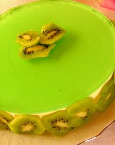 cheesecake de chocolate e kiwi (it)