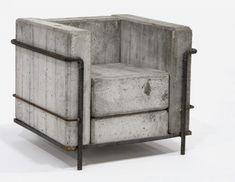 Design Miami Chaise Le Corbusier Béton