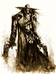 "The Saint of Killers, from  Garth Ennis's ""Preacher."" Art by Skottie Young"