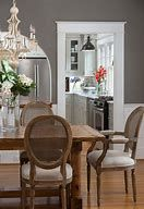 Traditional farmhouse dining room decoration Living Room This Deep Gray Dining Room Blends Country And Traditional Styles Best Solutions Of French Country Choxico French Country Dining Room Decorating Ideas Reviravolttacom French Country Dining Table, Farmhouse Dining Room Table, Dining Room Table Decor, Country Dining Rooms, Dining Table Design, Dining Room Sets, Room Decor, French Farmhouse, Farmhouse Chairs