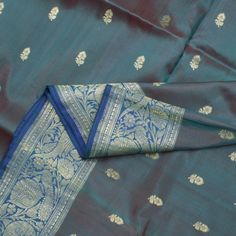 Benarasi silk cotton.
