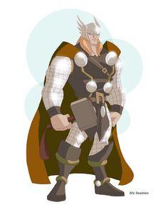 Thor Update by *EricGuzman on deviantART