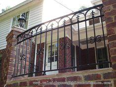 Charlotte NC custom wrought iron railings Raleigh Wrought Iron Co.