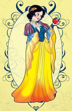 Fantasy: Apple Princess (digital) by Nytewell on DeviantArt Snow White 1937, Sleeping Beauty 1959, Disney Movies, Disney Characters, Treasure Planet, Photoshop Cs5, Marker Art, Big Hero 6, Disney Fan Art