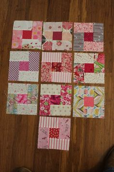 A New Start to a RSC Quilt (Quilting is more fun than Housework.) - A New Start to a RSC Quilt - Mini Quilts, Jellyroll Quilts, Strip Quilts, Scrappy Quilts, Easy Quilts, Quilt Blocks, Patchwork Quilting, Patch Quilt, Quilt Square Patterns