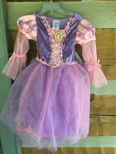 Size 3 long sleeve light up Repunzel