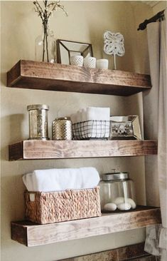 The Nicest And Cleverest Diy Floating Shelving Idea And Its Multi-advantages