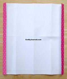 8 Pocket Folder from One Sheet of Paper Folder Diy, Paper Folder, Pocket Page Scrapbooking, Paper Pocket, Christmas Paper Crafts, Handmade Books, Book Binding, Travelers Notebook, Junk Journal