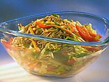 "Best Asian pasta salad!!  Everywhere I take this people ask for the recipe.  Guy Fieri's ""Dang Cold Asian Noodle Salad"""