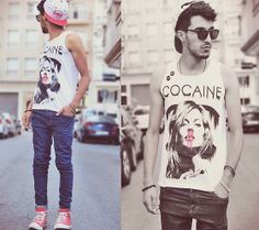 Cocaine is a hell of a drug (by Mohcine Aoki) http://lookbook.nu/look/3640867-Cocaine-is-a-hell-of-a-drug