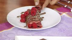 Red velvet crepes! Impress mom with breakfast in bed. #recipes #SharingGoodFood @TODAY