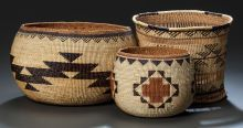 NORTHERN CALIFORNIA BASKETS c. 1900 - 1930