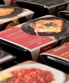 ready meals packaging by smithandvillage.com for Booths