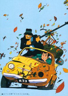 It's no ghibli. Manga Art, Manga Anime, Anime Art, Totoro, Character Art, Character Design, Lupin The Third, Fiat 500, Daffy Duck