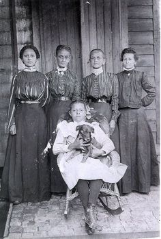 Women of Fauberg Treme, New Orleans and their dog. Faubourg Tremé is the oldest black neighborhood in America, and the origin of the southern civil rights movement and the birthplace of