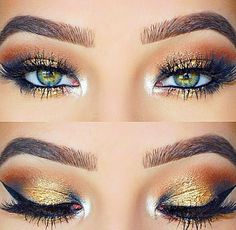 Makeup for green eyes Pinterest: @JENNY
