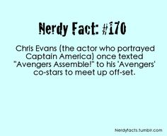 """Nerdy Facts """"Never fear, the Avengers are here!""""  -@Karen Darling Space & Stuff Blog Amy Martin"""