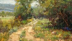 Country Road by Kathryn Stats - Greenhouse Gallery of Fine Art