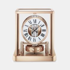 Buy an Atmos clock online on the official Brand website from the Jaeger-LeCoultre watchmaking Manufacture. Pink And Gold, White Gold, Gold Platinum, Plating, Clocks, Modern, Home, Interiors