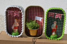 Crafts For Kids, Diy Crafts, Tin Boxes, Cottage Style, Reuse, Origami, Portugal, Recycling, Shabby