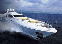 Beautiful Italian designed yacht
