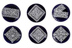 Venetian Lace Plates, Set of 6 on OneKingsLane.com